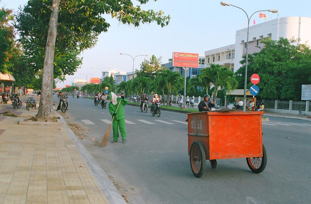 Thu gom vận chuyển rác thải