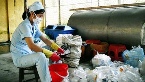 Xử lý rác thải y tế